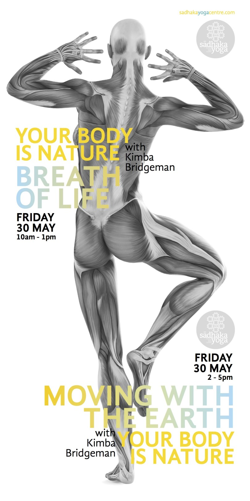 Your Body is Nature: Yoga Anatomy Workshop Series, Sadhaka Yoga ...